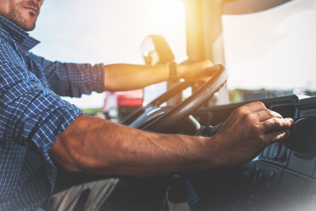 Aflæsning tachograf lastbilchauffør