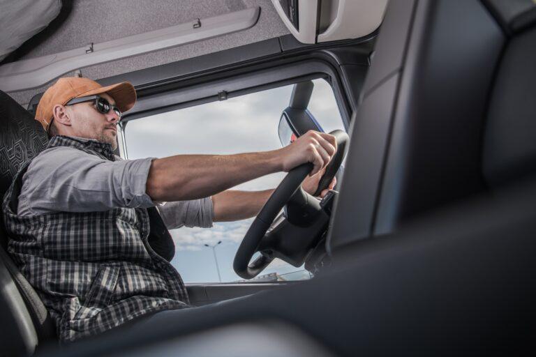Lastbilchauffør takograf køre- og hviletid