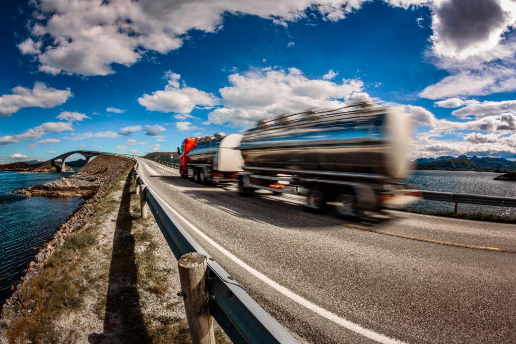 Lastbil vej automatisk download tachograf